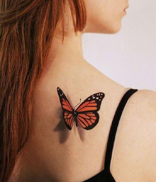 tatuajes mariposas monarcas significados 1