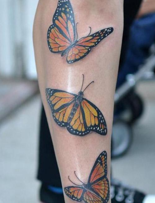 tatuajes mariposas monarcas significados 2