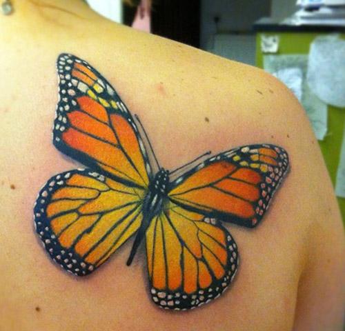 tatuajes mariposas monarcas significados 3