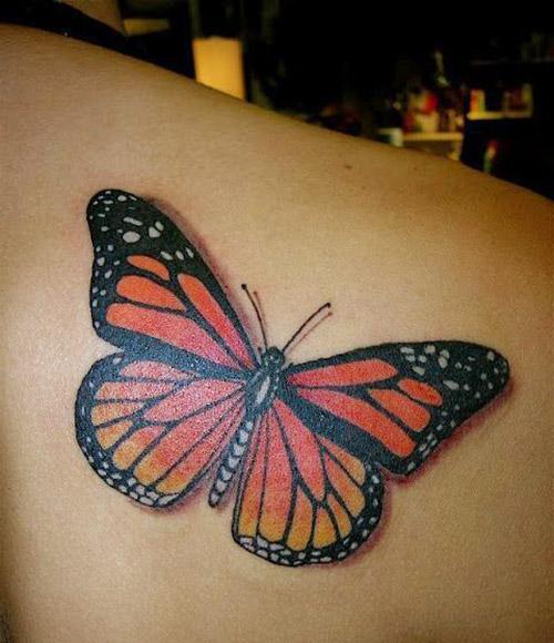 tatuajes mariposas monarcas significados 4