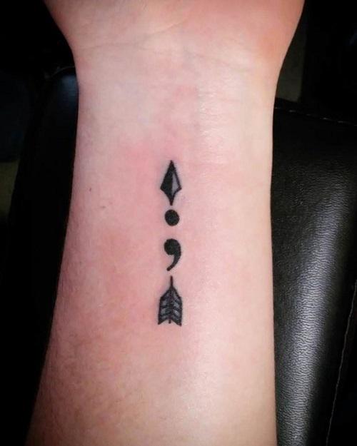 tatuajes punto coma significado 14