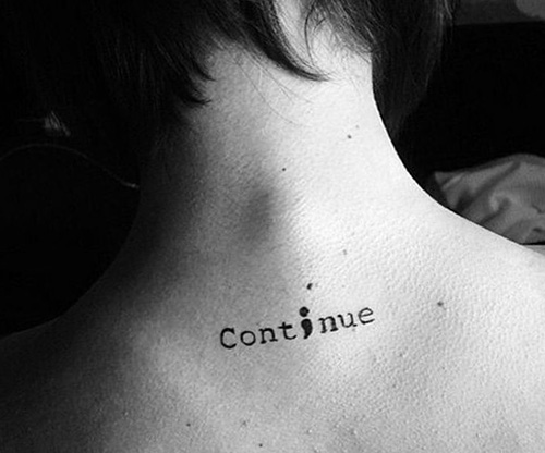tatuajes punto coma significado 5