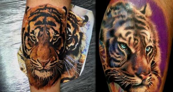 tatuajes tigres bengalas 2 - tigres