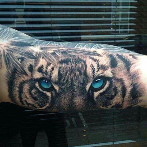 tatuajes tigres blancos 2 - tigres