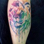 tatuajes tigres en la pierna rodilla tobillos 3 150x150