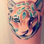 tatuajes tigres en la pierna rodilla tobillos 6 150x150