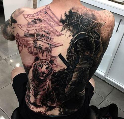 tatuajes tigres espalda 2