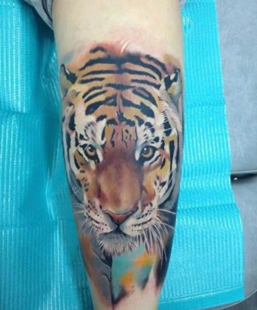 tatuajes tigres hombres originales 1