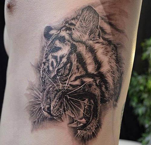 tatuajes tigres hombres originales 3