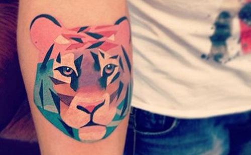 tatuajes tigres mujeres lindos 4