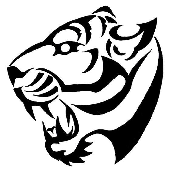 tatuajes tigres tribales diseños 1 - tigres