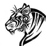 tatuajes tigres tribales diseños 4 150x150