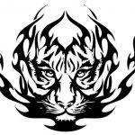tatuajes tigres tribales diseños 5 150x150