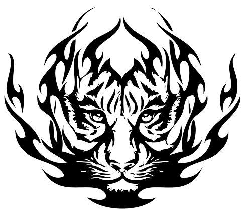 tatuajes tigres tribales diseños 5 - tigres
