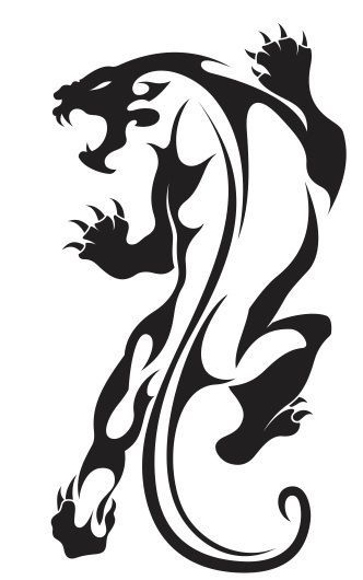 tatuajes tigres tribales diseños 6 - tigres