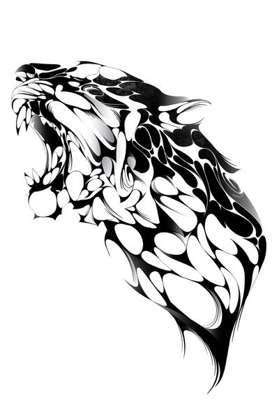 tatuajes tigres tribales diseños 7 - tigres