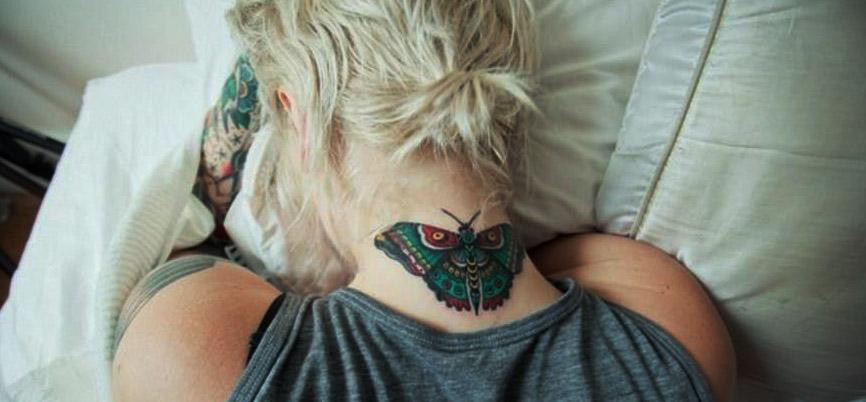 tatus de mariposas mujer