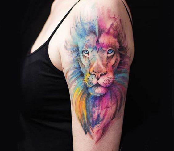 tautajes leones mujer leonas 3