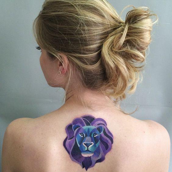 tautajes leones mujer leonas 7