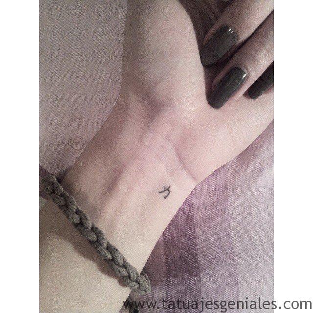 Minuscule Symbol -