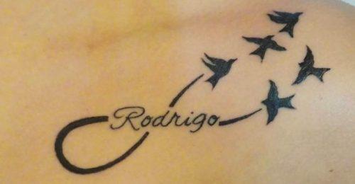 con nombres 6 - tatuajes de infinito