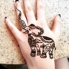 de elefantes en la mano 3