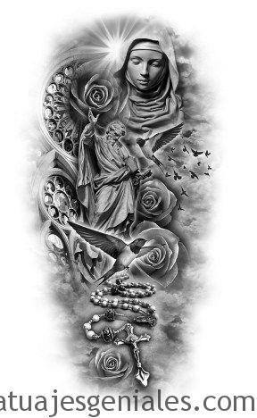 diseños tatuajes brazos 2