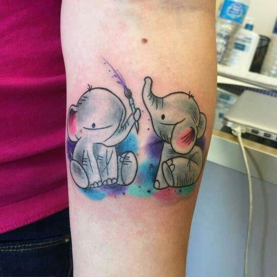 elefantes de mujeres 3 - tatuajes de elefantes