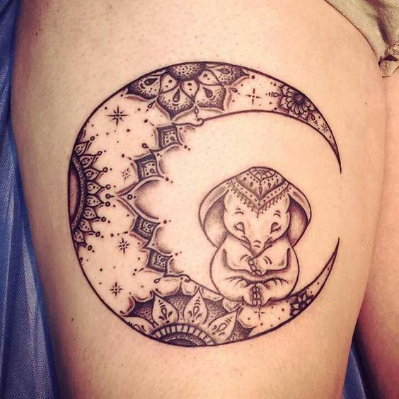 elefantes de mujeres 4 - tatuajes de elefantes