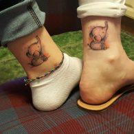 elefantes pequeños 6 - tatuajes de elefantes