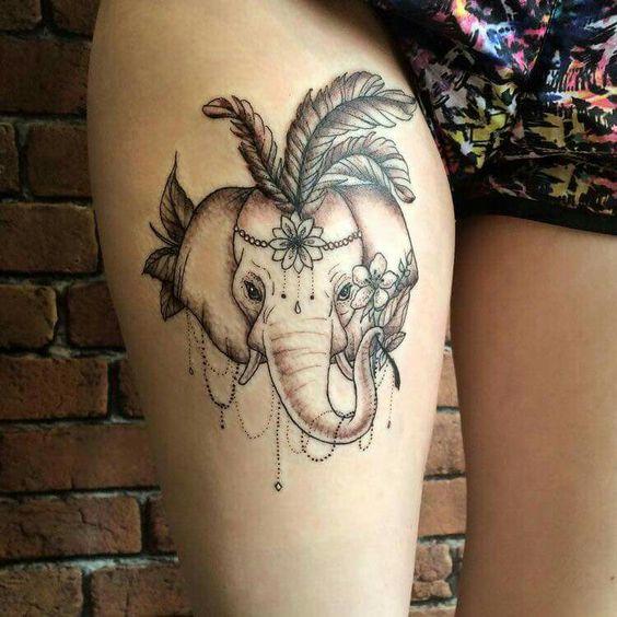 elfantes hindu para mujeres 3 - tatuajes de elefantes