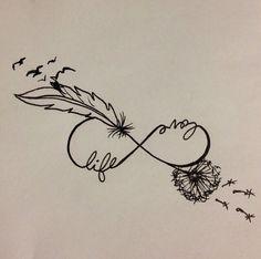 infinito con plumas 3