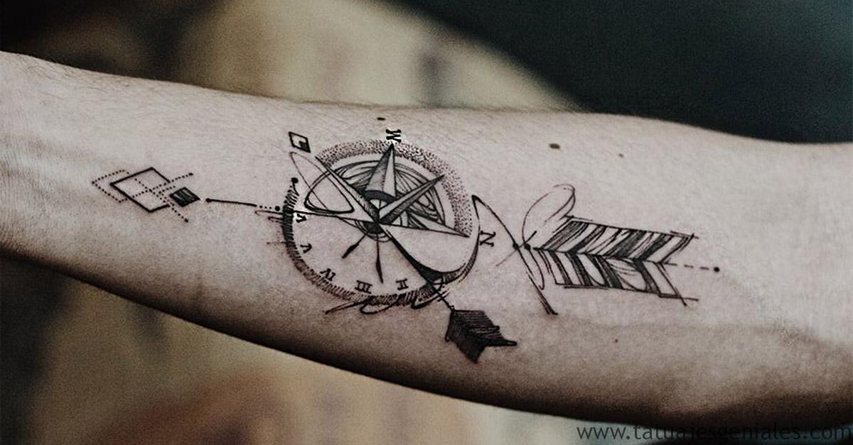 portada tatuajes brujulas