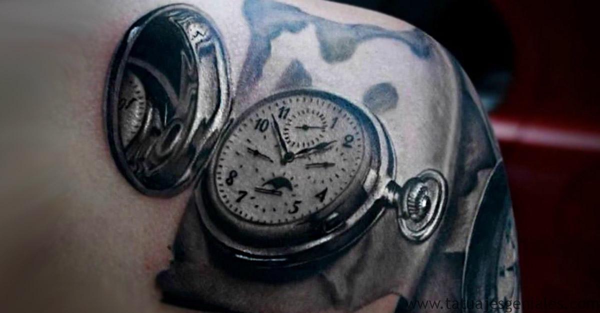 portada tatuajes reloj