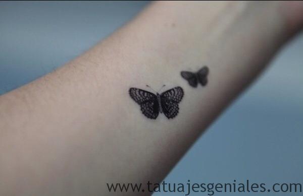 tatto pequeños mariposas 1