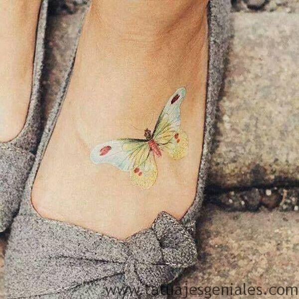 tatto pequeños mariposas 3