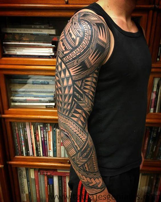 tattoo brazo manga completo 5