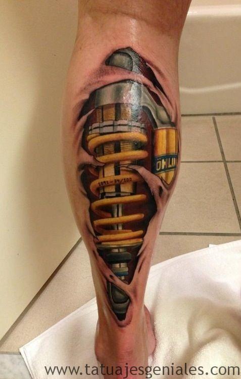 tattoo hombre piernas tatuajes 10