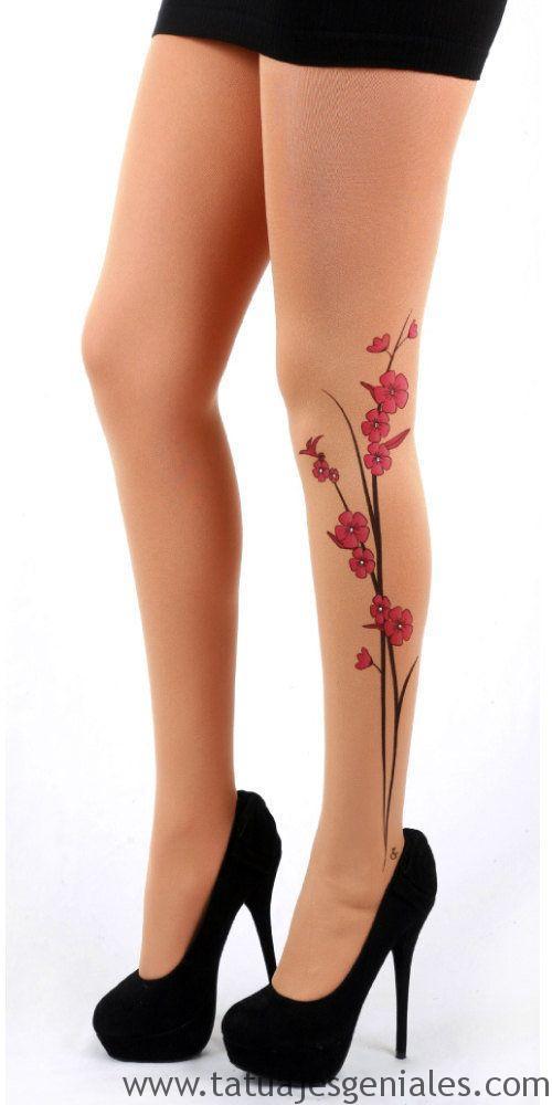 tattoo piernas mujeres 9
