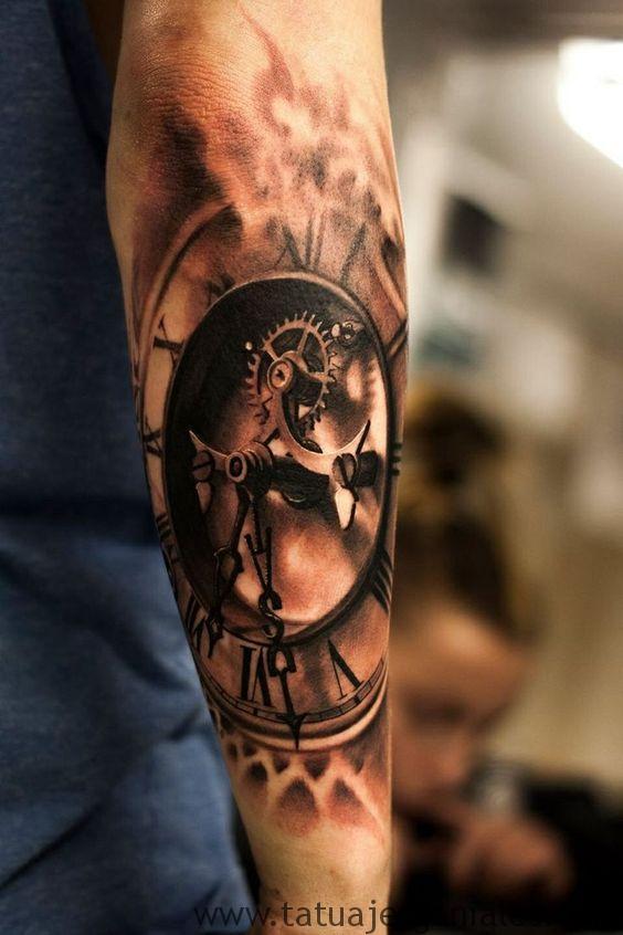 tattoo reloj antiguos 2