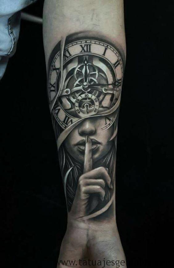 tattoo reloj antiguos 3