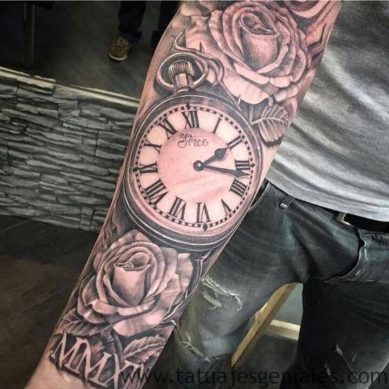 tattoo reloj bolsillo 2