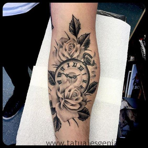 tattoo reloj bolsillo 3
