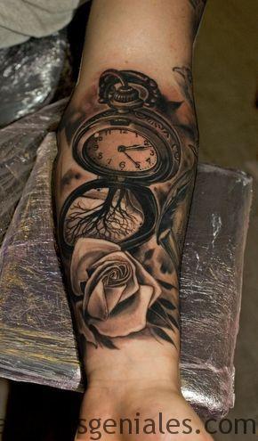 tattoo reloj bolsillo 4