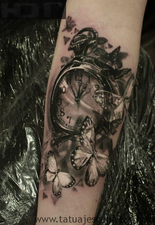 tattoo reloj bolsillo 6