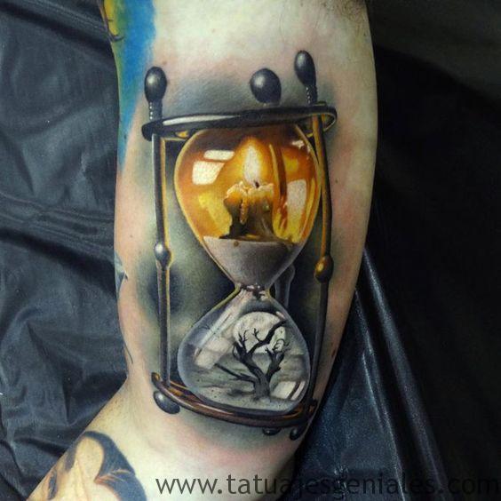 tattoo reloj de arena 4