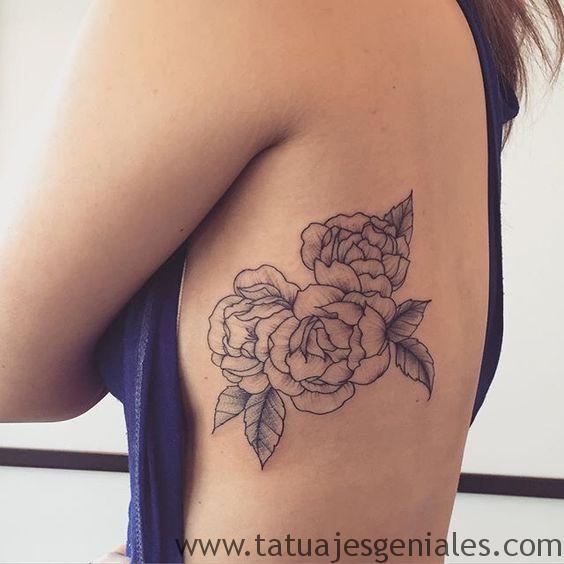 tattoo rosas flores 5