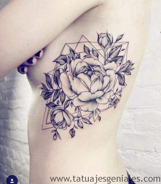 tattoo rosas flores 6