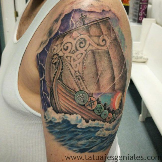 tattoo vikings barcos 3