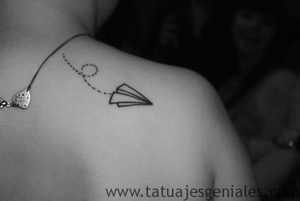 tatu pequeño espalda 4